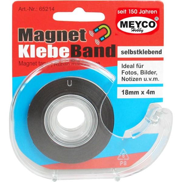 Magnet-Klebeband - 18mm / 4m von Meyco (65214)