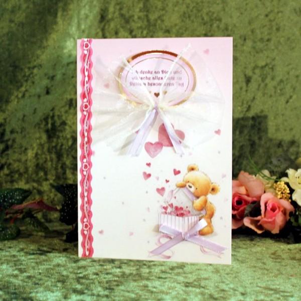 XL-Grußkarte für versch. Anlässe, z.B. zum Valentinstag