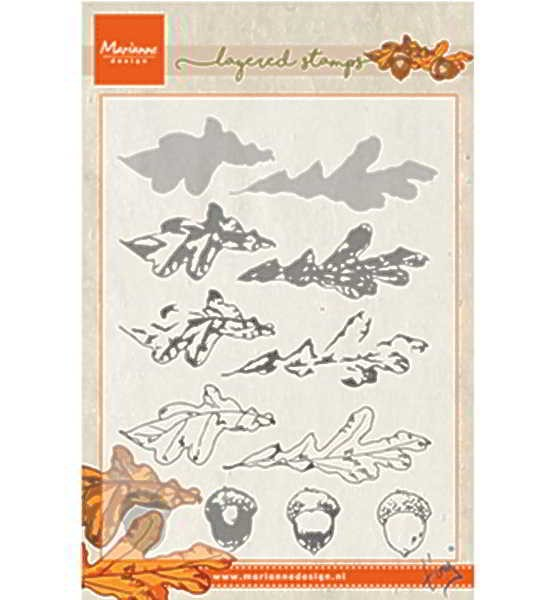 Tiny´s autumn (layering) - Stempel / Clearstamp