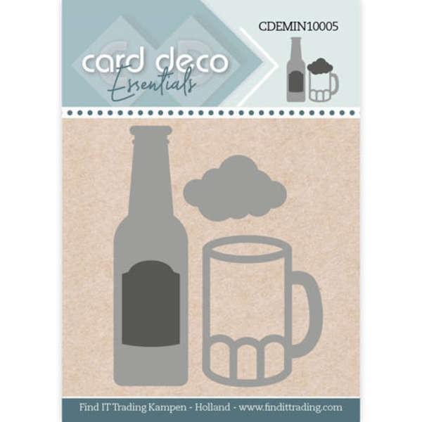 Bier / Beer - Mini Dies von Card Deco (CDEMIN10005)