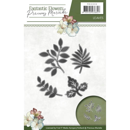 Blätter - Fantastic Flowers - Stanzschablone