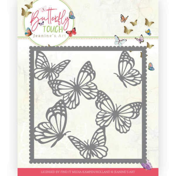 Butterfly Frame - Butterfly Touch Collection von Jeanines Art (JAD10118)
