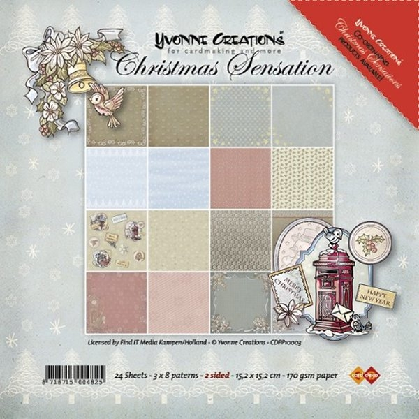 Christmas Sensation - Design Motivpapier