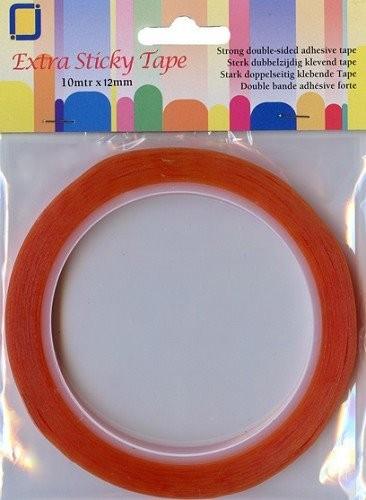 Sticky Tape 12 mm x 10 m - extrastarkes Doppelseitiges Klebeband