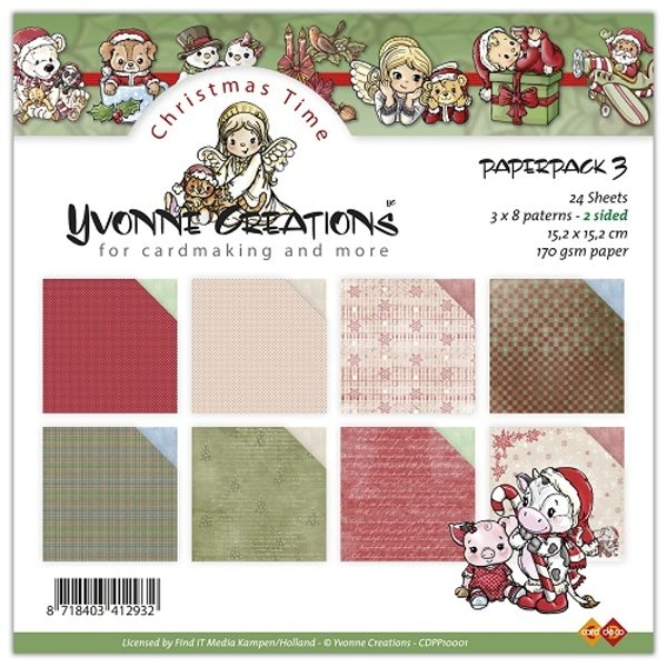 Christmas Time - Set 3 - Design Motivpapier