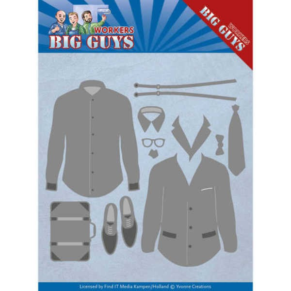 Workers - Dressed to Impress - Big Guy - Workers Collection von Yvonne Creations (YCD10204)