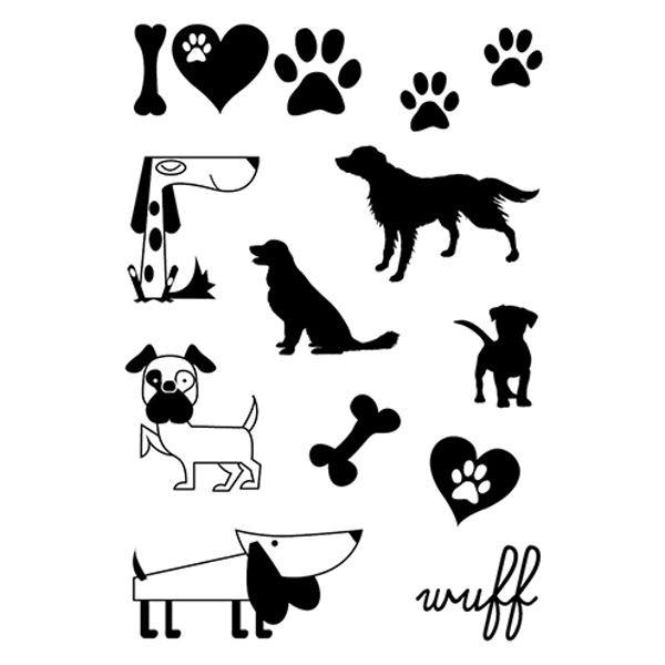 Hunde - Clear Stamp - Stempelplatte von efco (4510945)