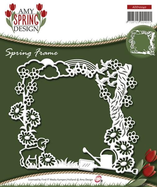 Spring Frame / Frühlingsmotive - Stanzschablone