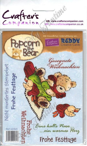 Crafters Companion - Frohe Festtage 6 Stempelmotive