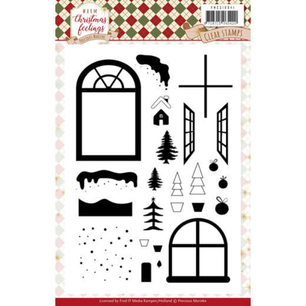 Warm Christmas Feelings - Clearstamp / Stempel