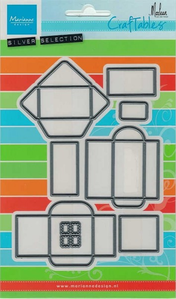 Enveloppe Set / Umschlagset - Stanzschablone