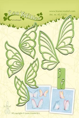 Schmetterlinge - Stanz- & Prägeschablone
