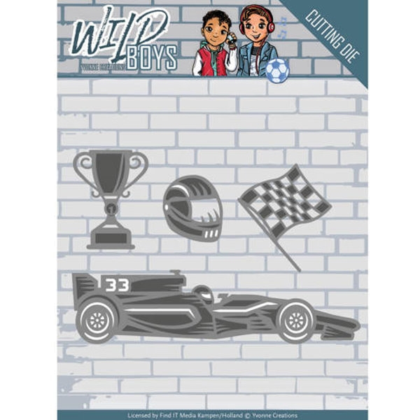 Racing - Wild Boys - Stanzschablone