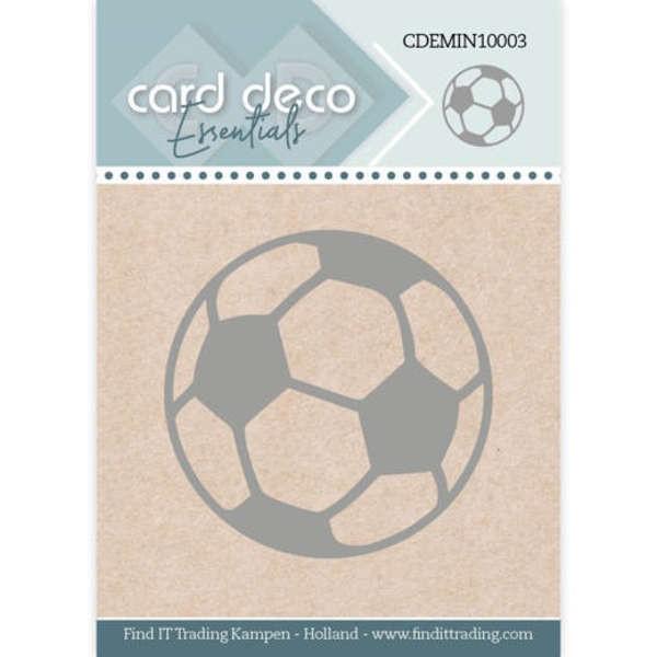 Football / Fußball - Mini Dies von Card Deco (CDEMIN10003)