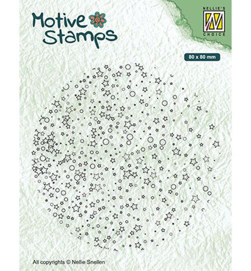 Textures - Stars & Dots - Clear Stamp / Stempelplatte von Nellie´s Choice (TXCS019)