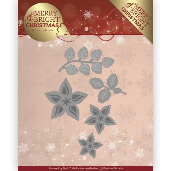 Christmas Florals - Stanzschablone