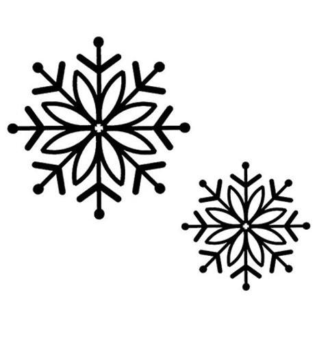 Schneeflocken - Stempel / Clingstamp von Creative Expressions