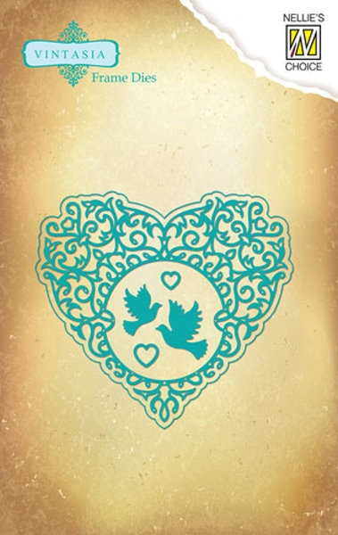 Stanz- und Prägeschablone - Love Heart