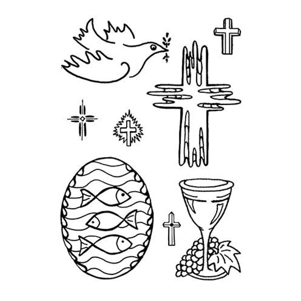 Religious - Stempel - Clearstamp