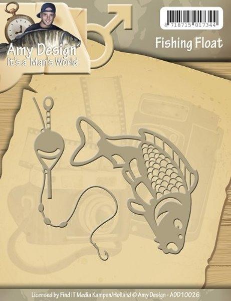 Angeln gehen / Fishing Float - Stanzschablone