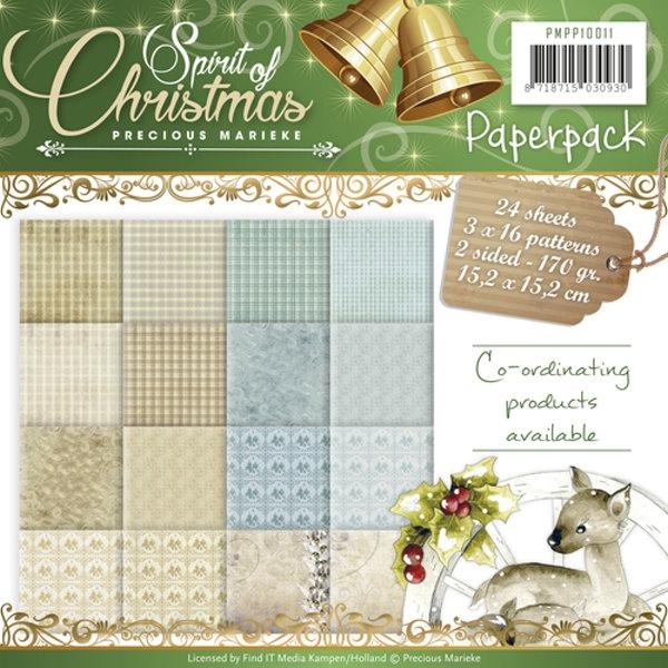 Spirit of Christmas - Design Motivpapier