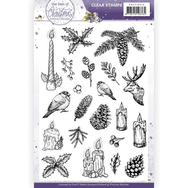 The Best Christmas Ever - Clearstamp / Stempel von Precious Marieke (PMCS10049)