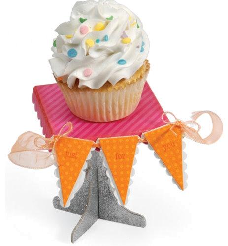 Stand & Pennant - ScoreBoards L / XL Cupcake - Stanzschablone