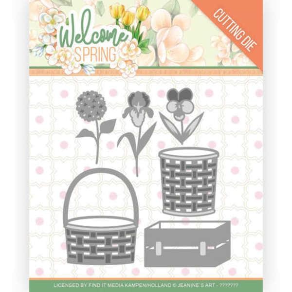 Spring Basket - Welcome Spring Collection von Jeanine´s Art (JAD10116)