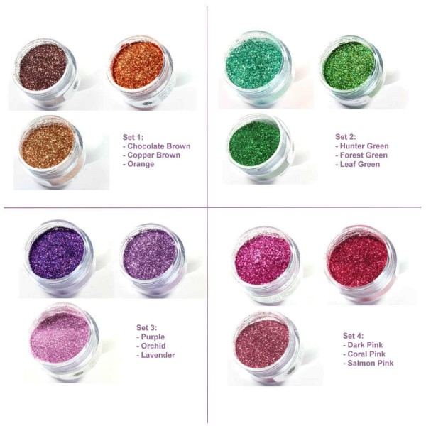 Scary Mary Craft Glitter - Set (3 Farb-Sets zur Auswahl)
