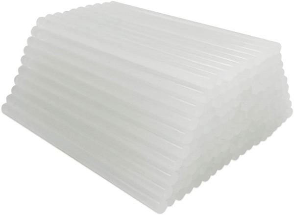 Heißklebestifte - Universal - Transparent 7,2 mm / 10 cm - wahlweise 100 Stück oder 300 Stück