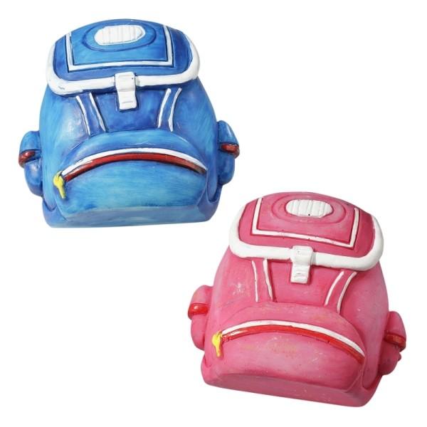 CREApop® - Rucksack / Schulmappe in Blau oder Rosa