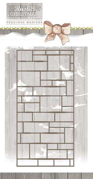 Brick Wall / Ziegelwand - Stanzschablone