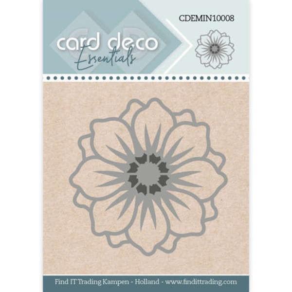 Flower / Blume - Mini Dies von Card Deco (CDEMIN10008)