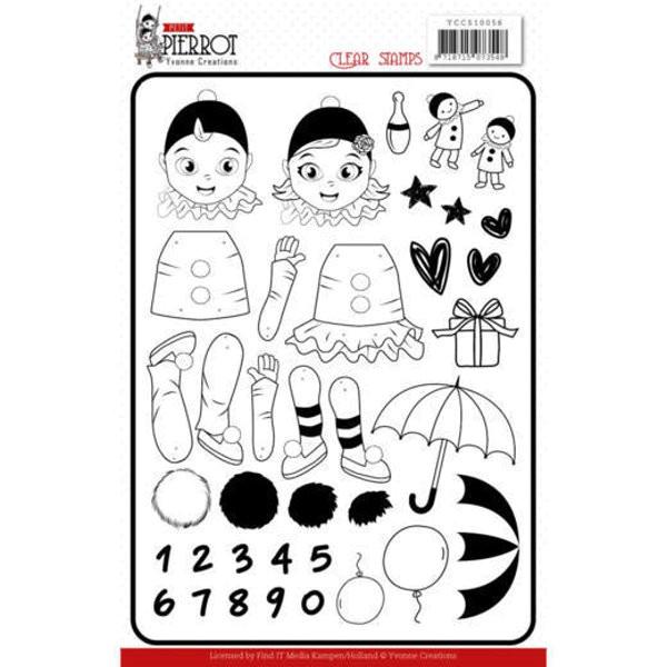 Petit Pierrot - Stempel - Clearstamp