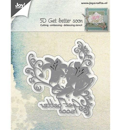 Get better soon - Stanzschablone von Joy!Crafts (6002/0984)
