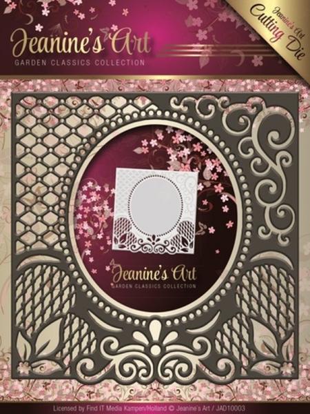 Garden Classics - No. 3 - Stanzschablone