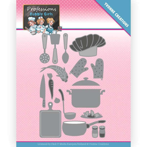 Kitchen Staff - Bubbly Girls - Professions Collection von Yvonne Creations (YCD10236)