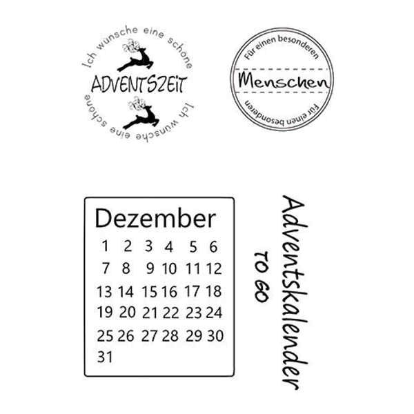 Advent - Stempel / Clearstamp
