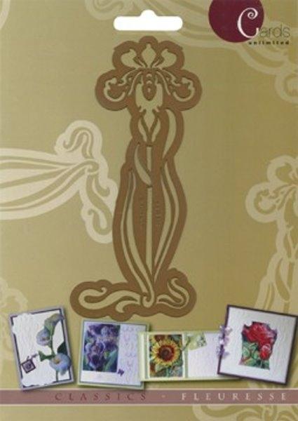 Iris - Prägeschablone / Embossing-Folder