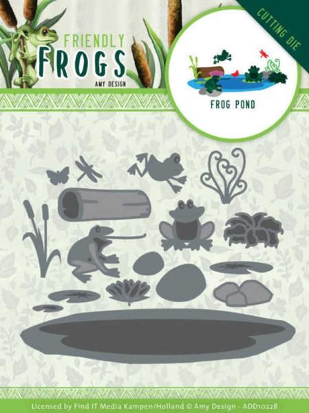 Frog Pond - Friendly Frogs Collection von Amy Design (ADD10228)