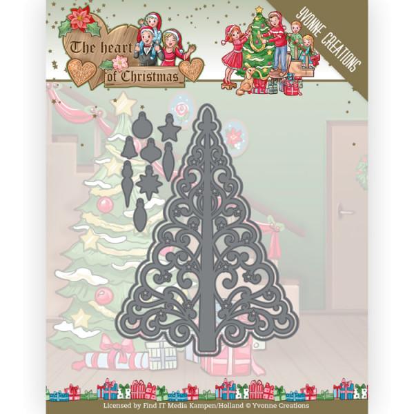 Twinkling Tree - The Heart of Christmas Kollektion von Yvonne Creations (YCD10255)