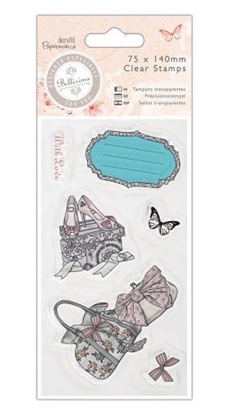 Bellisima - Schuhe & Handtaschen - ClearStamp / Stempel