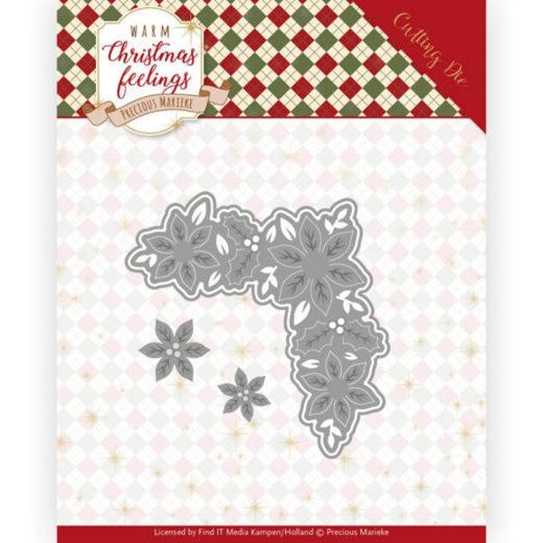 Christmas Corner / Weihnachtliches Eckenelement - Stanzschablone