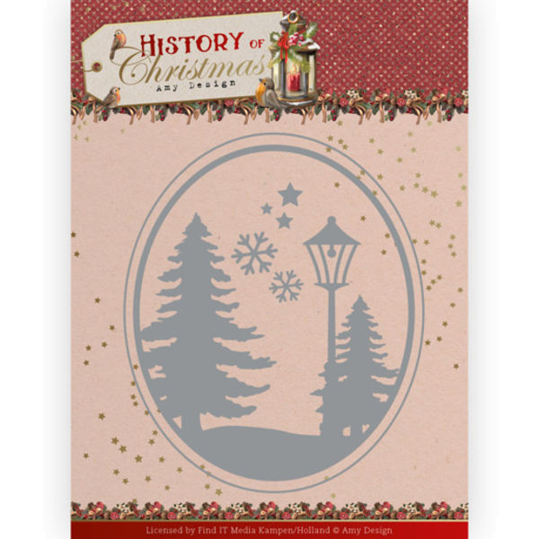 Christmas Landscape - History of Christmas Collection von Amy Design (ADD10244)