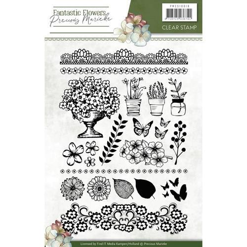 Fantastic Flowers - Clearstamp-Set