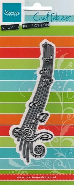 Music / Musiknoten - Stanzschablone