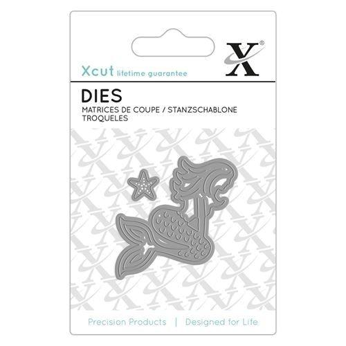 Meerjungfrau / Nixe / Mermaid - Mini Die Stanzschablone