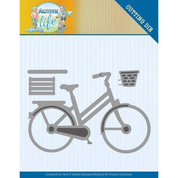 Fahrrad / Bicycle - Active Life - Stanzschablone