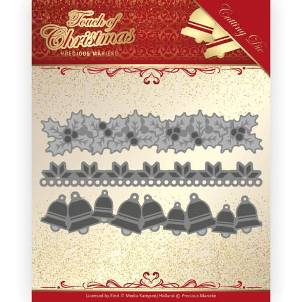 Christmas Borders - Touch of Christmas - Stanzschablone