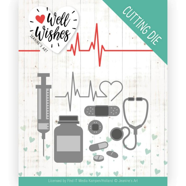 Getting Well - Well Wishes - Stanzschablone